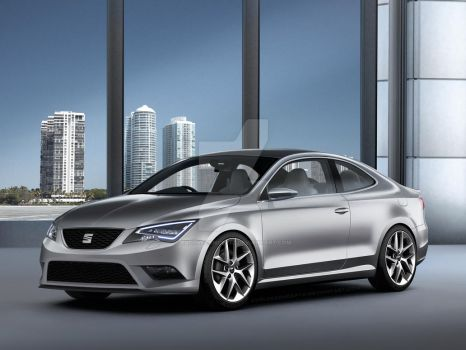 SEAT Coupe Concept by EvolveKonceptz