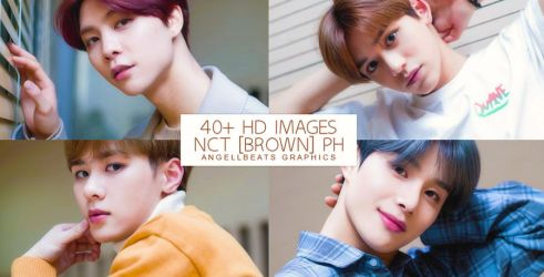 NCT [BROWN] Photopack by AngellBeats