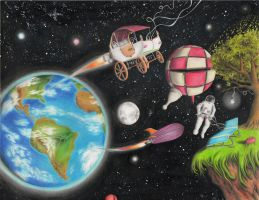 Voyage Towards the Unconquered Frontier: Space by jesus-at-art