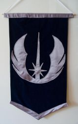 Star Wars Jedi Order hanging by WhimsicalSquidCo