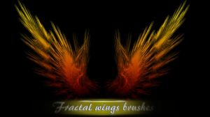 Fractal wings brushes by ShangyneX