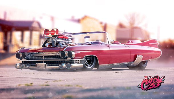 '59 Caddy Eldorado Biarritz by Adry53