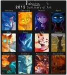 2015 Art Overview by Finchwing