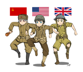 Here Come Dat Allies by Xinom