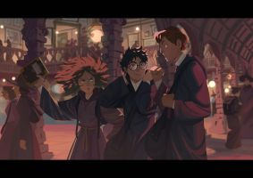 Harry Potter 3 by Nesskain