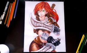 Katarina from League of Legends by seiji0