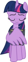 Twilight holding a Book by FrownFactory