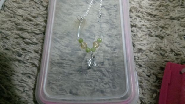 Custom Fairy necklace by TheMadKatArtist