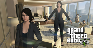 GTAV Female Assistant XNAlara/XPS by ParametricEQ