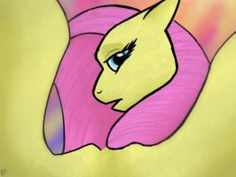 Commision: Fluttershy by ClaraFlos