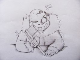 Horror Sans by Foziz105