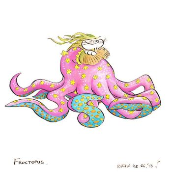 Froctopus by DrawingForMonkeys