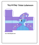 Toy-a-Day Trixie Lulamoon by GrapefruitFace1