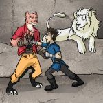 Sparring by Impious-Imp
