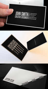 Clean Business Card Bundle by Nyz87