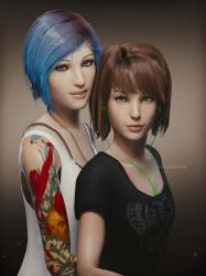Realist - Chloe x Max by DemonLeon3D