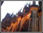 St. Vitus Cathedral 03 by JOhanka1412