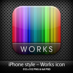 iPhone style - Works icon by YaroManzarek