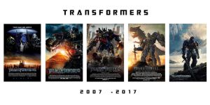 Transformers 2007 - 2017 by JMK-Prime