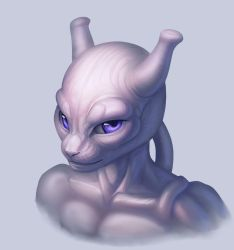Mewtwo for a Patron by we-were-in-love