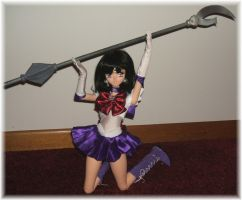 Sailor Saturn 60cm Obitsu BJD by SetsunaKou