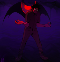 Devilman Crybaby by Muchinery