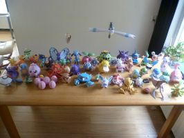 My pokemonpapercraftcollection