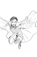 Drstrange-lines by jksketch