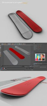 snowboard project by 3DEricDesign
