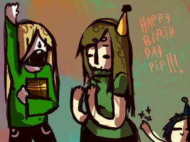 Happy birth day pip!!! by Zelda-muffins