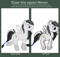 Improvement Meme~ by VampyKit