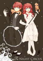 The Night Circus : Widget and Poppet by eizurin