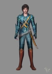 Character Design 1 by pavari