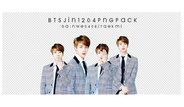 14 / BTS JIN Birthday PNG PACK by NWE0408