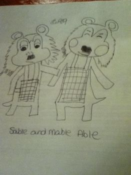 Sable and Mable by Liv909