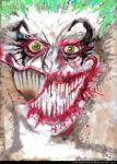 The Joker's Self Portrait 2 by toxiccandymanson