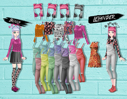My Candy Love pack: Funky Street Style by TwoLoversDaughter