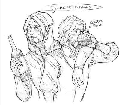 Drunk Bros by Serpentwined