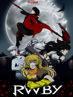 RWBY Movie Poster Contest Entry by mirzers