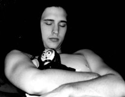 Sleeping Boy with Doll by zillah-solis