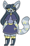 Russian blue space cat auction (closed) by Sweetnfluffy-adopts