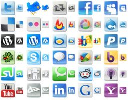 Free Social Media Icons by shockvideo