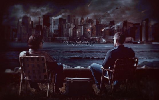 Dean and Sam Winchester Apocalypse by GalleryGestapo