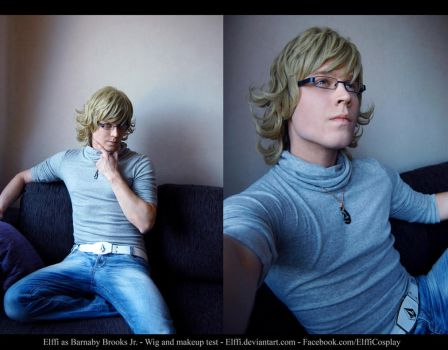 Barnaby Brooks Jr. - Tiger and Bunny - WIP by Elffi