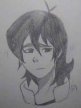 Keith sketch headshot fanart by Tobascar