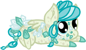 Mystery Color Cluster Pony OTA - Arctic by pastiche-noir