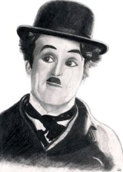 Charlie Chaplin by h-boothe