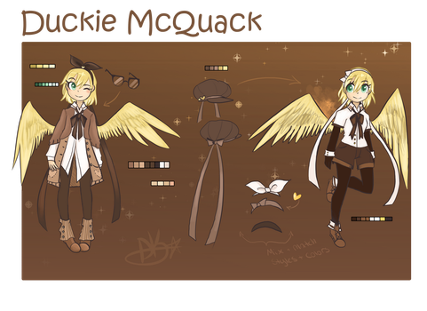 .:Duckie Character Card:. by MadDuckie76105