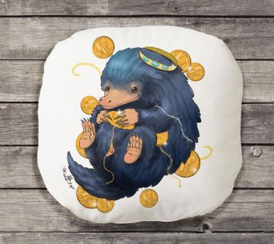 FOR SALE! Niffler pillow by MalinaToys