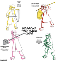 Weapons that made JNPR by Rukotaro